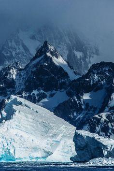 mountains snow winter <3