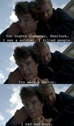 BBC Sherlock Holmes John Watson