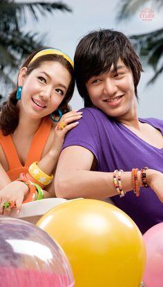 Park Shin Hye and Lee Min Ho♥Wow!
