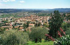 paysage de Grasse, Grasse Landscape French Riviera - Fragonard PARFUMEUR #Grasse #landscape #paysage