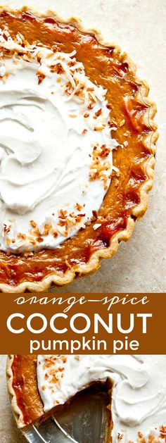 Cajun Delicacies Is A Lot More Than Just Yet Another Food Best Ever Pumpkin Pie, Made With Coconut Milk Orange Spiced Coconut Pumpkin Pie Dessert For Two, Pie Dessert, Dessert Recipes, Phyllo Recipes, Baking Recipes, Pie Recipes, Thanksgiving Desserts, Fall Desserts, Vegan Thanksgiving