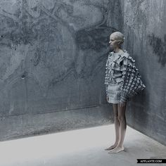 'Object 12-1′ Experimental Fashion Collection // Matija Čop | Afflante.com