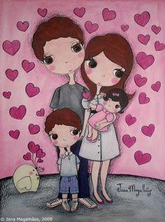 familia - Jana Magalhães