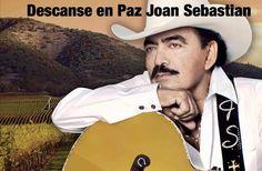 Joan Sebastian. †2015