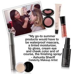 Summer is officially here! Celebrity makeup artist Ashunta Sheriff shares with us her go-to summer products. What are yours?