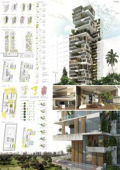 Mención Honrosa Concurso SKYCONDOS de Perú / GEA Arquitectos