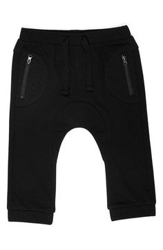 Kardashian Kids French Terry Track Pants (Baby Boys) | Nordstrom