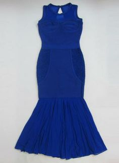 Blue Sexy Dress - Bqueen Long Prom Evening Gown
