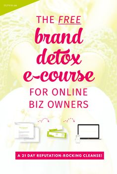Whip your online business into pro shape with this free 3-week email course -- a DIY blog + social media audit plus expert marketing strategy all rolled into one! If you're finding it hard to make an income and get noticed online, you don't want to pass this one up.