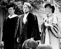 """On June 9, 1970, Bob Dylan received an honorary Doctorate of Music from Princeton University. His experiences at the 1970 Commencement ceremony inspired his song, """"Day of the Locusts."""""""