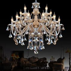 crystal chandeliers bedroom lamp dining room chandelier large stained glass hanging light kitchen