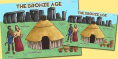 KS2 Bronze Age- Large Bronze Age Display Poster