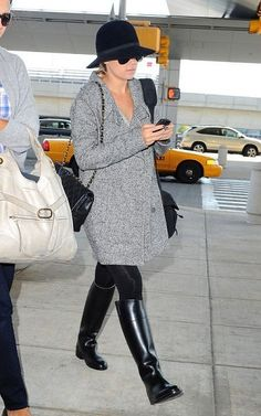 Lauren Conrad - airport - travel outfit