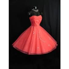 Image result for retro dress coral