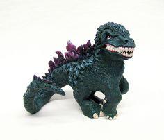 My Little Godzilla by Mari Kasurinen, via Flickr