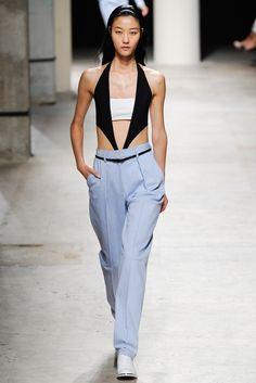 Barbara Bui Spring 2014 Ready-to-Wear Fashion Show - Elisabeth Erm