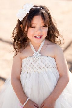 Sweet Sophistication Flower Girl Dress Shown in by jujustutus