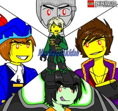 133 Best Ninjago anime images in 2018 | Lego ninjago, Lego