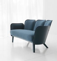 the shape of the series by färg & blanche is defined by the materials and technique, while the sewing, padding and fabric offer a personable appeal.