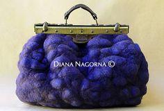 Sackvoyage stylish big bag blue bag roomy bag with от DianaNagorna