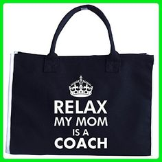 Relax My Mom Is A Coach - Tote Bag - Totes (*Amazon Partner-Link)