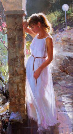 Vladimir Volegov, Figurative artist, Impressionist artist, Waterhouse Gallery