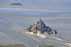Photo aérienne de Mont-Saint-Michel - Manche (50)