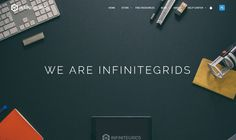 Homepage from Infinitegrids | PatternTap | ZURB Library