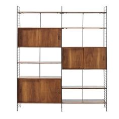 Solid Acacia and Black Metal Vintage Shelf Unit Yucca on Maisons du Monde. Take your pick from our furniture and accessories and be inspired! Room Divider Shelves, Door Shelves, Acacia, Vintage Regal, Vintage Tv, Veneer Door, Record Cabinet, Scandinavian Style Home, Affordable Furniture