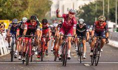 Četrta etapa dirke po Omanu je bila ponovno uspešna za dolenjsko puščico Marka Kumpa.