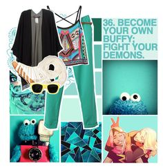 """Turqoise Tuesday!"" by birdofparadise25 ❤ liked on Polyvore featuring art"