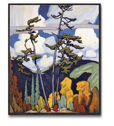 The Pines by Lawren Harris