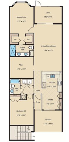 Barrington - Floor Plan