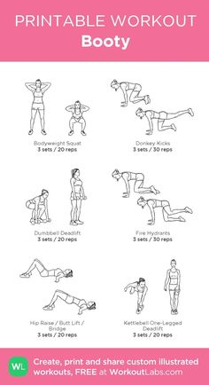 Easy at home butt workouts for women