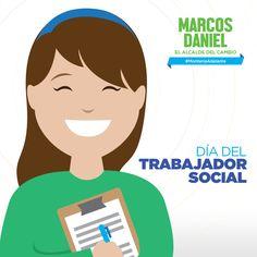 Muchas gracias a todos aquellos que se preparan día a día para servir a la gente. Feliz día del Trabajador Social.
