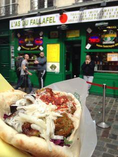 L'As du Fallafel in Paris.. Craving this SO bad!