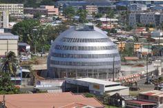 Martinique Fort de France le dôme de Sainte Thérèse