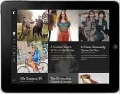 New York Times Launches Fashion App for iPad