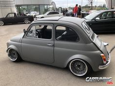 Fiat 126, Fiat Cinquecento, Fiat Abarth, Porsche 930 Turbo, Mazda Cx5, Slammed Cars, Mini Copper, Automobile Companies, Audi A6 Avant