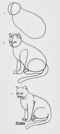 Desenhar não é tão difícil quanto parece desde que você veja o passo a passo de como desenhar animais que o EDUCAR X postou para você profes...