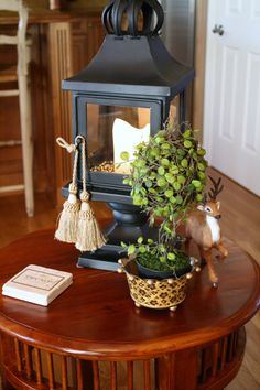 Side table styling f