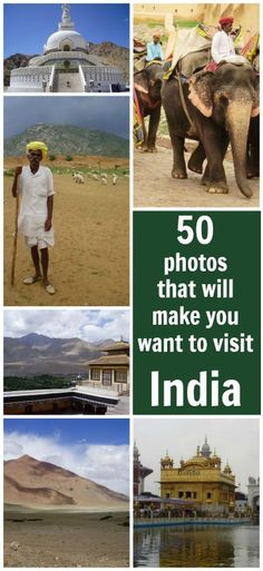 50 photos that will make you want to visit India!   More…