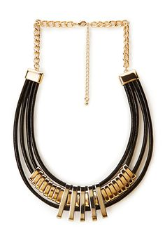 Coated Collar Necklace | FOREVER 21 - 1000107007