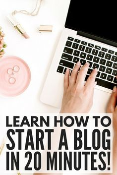 Learn how to start a blog TODAY so you can earn enough money to quit your day job and work from just about anywhere in the world! Designed for beginners, this step-by-step guide will teach you how to install your first WordPress blog so you can make your dreams a reality. No fancy computer, web design, or coding skills needed. Learning how to start a blog and make money has never been easier!