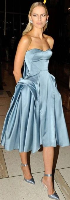 Powder Blue...and somewhere to wear it