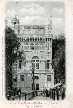 Exposition Universelle de 1900. Pavillon de la Presse. Paris