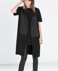 GILET LONG - Zara