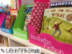 Blog Hoppin': Free/Cheap Classroom Decor Ideas - What a great idea for free book baskets!
