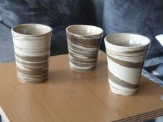 mugs with 2 different clays. Hyrulan Locksley.