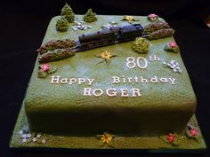 Steam Train birthday cake | Supercakes - Diane Fry